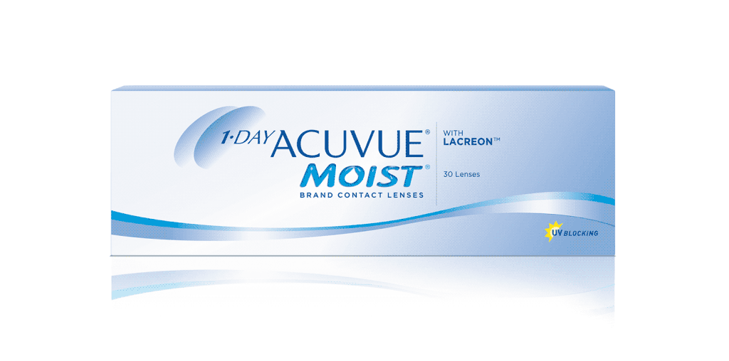 1-DAY ACUVUE® MOIST kontaktlinser
