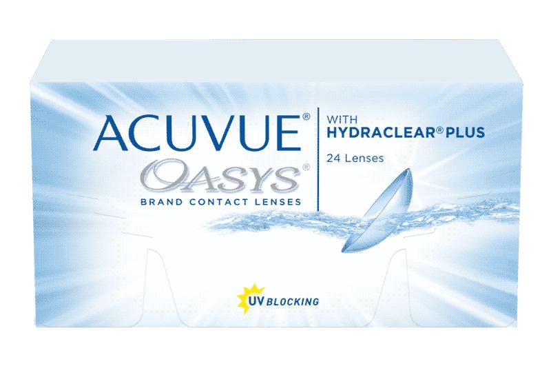 ACUVUE® OASYS med HYDRACLEAR® PLUS-teknologi kontaktlinser