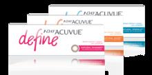 1-DAY ACUVUE® DEFINE® kontaktlinser som förstärker ögonfärgen