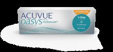 ACUVUE® OASYS 1-Day med HydraLuxe™ TEKNOLOGI för ASTIGMATISM endagskontaktlinser