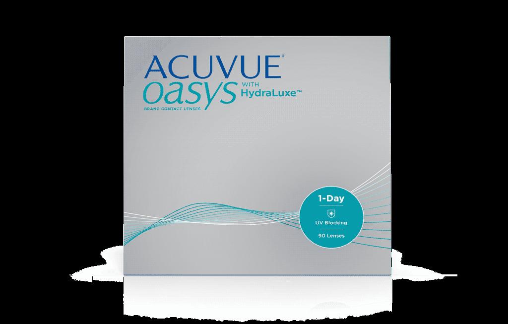 ACUVUE® OASYS 1-Day med HydraLuxe™ TEKNOLOGI kontaktlinser