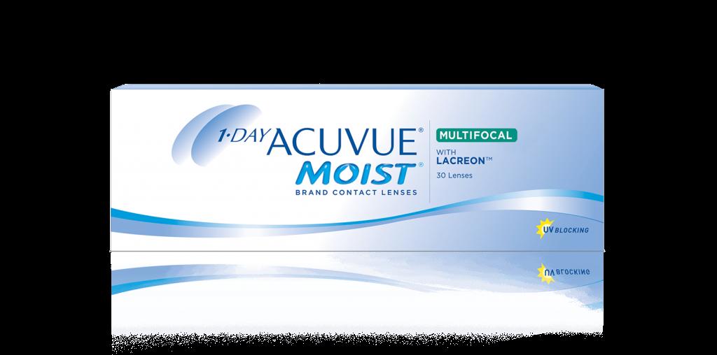 1-DAY ACUVUE® MOIST MULTIFOCAL endagslinser för presbyopi