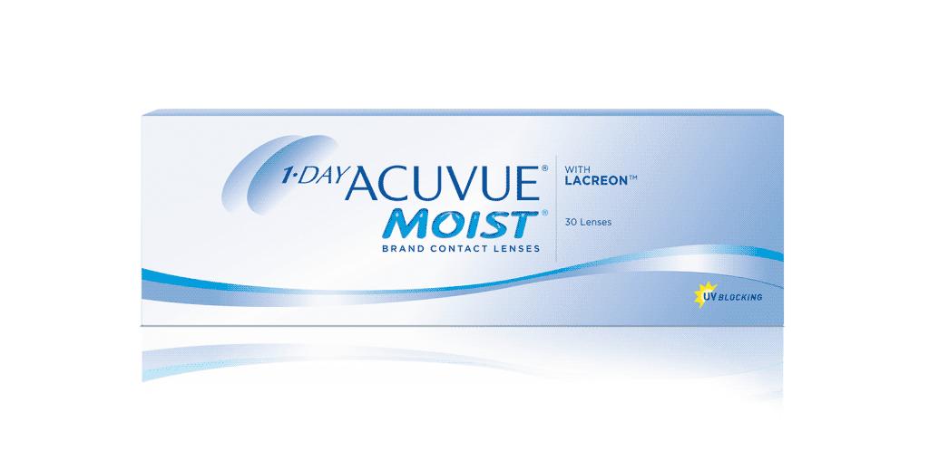 1-DAY ACUVUE® MOIST kontaktlinser