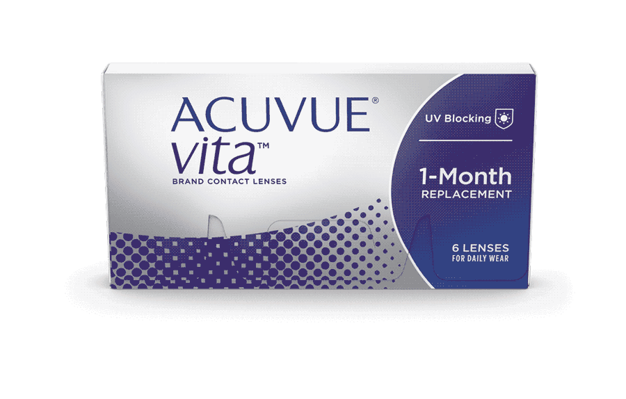 ACUVUE® VITATM med HydraMax™-teknologi kontaktlinser